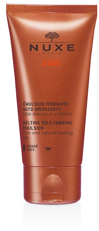 Nuxe Sun Emulsion Fondante Crema Autoabbronzante Viso 50 ml - La tua farmacia online