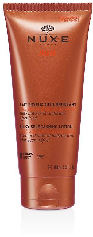 Nuxe Sun Lait Soyeux Auto-Bronzant Latte Setificante Autoabbronzate Corpo Colore Naturale 100 ml - La tua farmacia online