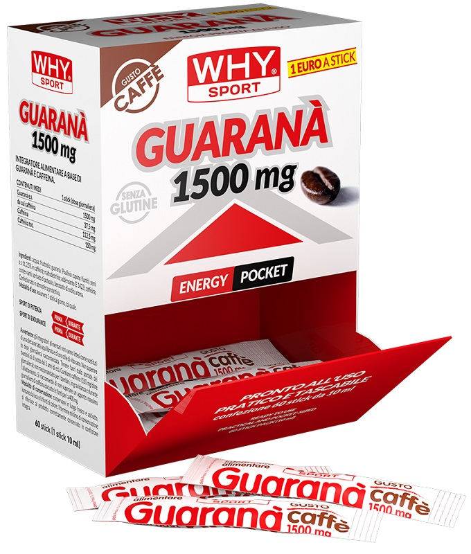 WHYSPORT GUARANA' 1500MG 1 BARRETTA STICK 10 ML - La tua farmacia online