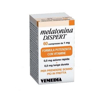 MELATONINA DISPERT 1MG DI MELATONINA 60 COMPRESSE - Farmastar.it