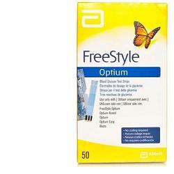 STRISCE MISURAZIONE GLICEMIA FREESTYLE OPTIUM TEST STRIPS 25 PEZZI - Farmamille
