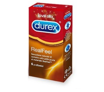 PROFILATTICO DUREX REALFEEL 6 PEZZI - Zfarmacia