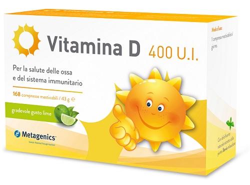 VITAMINA D 400 UI 168 COMPRESSE - Farmawing