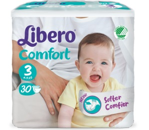 LIBERO COMFORT 3 PANNOLINO PER BAMBINO 5-9 KG 30 PEZZI - Farmacia 33