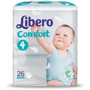 LIBERO COMFORT 4 PANNOLINO PER BAMBINO 7-11 26 PEZZI - FARMAEMPORIO