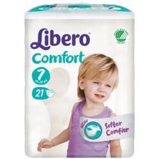 LIBERO COMFORT 7 PANNOLINO PER BAMBINO 16-26 KG 21 PEZZI - FARMAEMPORIO