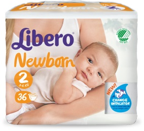 LIBERO NEWBORN PANNOLINO PER BAMBINO TAGLIA 2 6X36 PEZZI - Farmacia 33