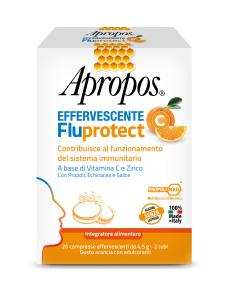 APROPOS FLUPROTECT EFFERVESCENTE C 20 COMPRESSE - FARMAPRIME