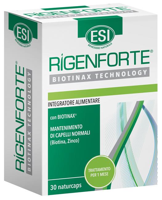 Esi Rigenforte Integratore Capelli 30 Capsule Retard - La tua farmacia online