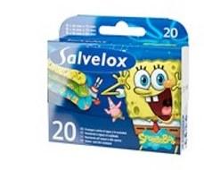 CEROTTO SALVELOX SPONGEBOB 10X20 CM 20 PEZZI - Farmacia 33