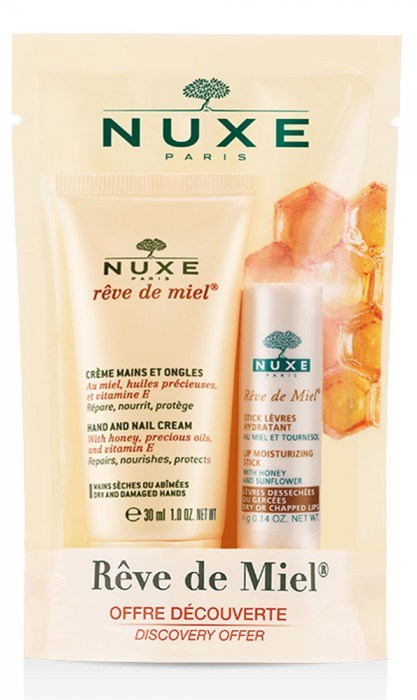 NUXE DUO CREME MAINS/ONGLES 75 ML+ STICK LEVRES HYDRATANT - Farmastar.it