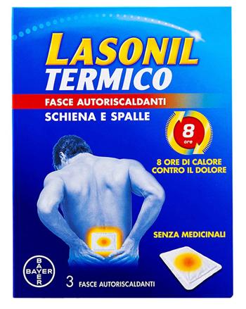 LASONIL TERMICO SCHIENA/SPALLE 3 FASCE AUTORISCALDANTI - Farmacento