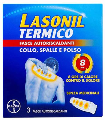 Lasonil Termico Collo/Spalle/Polso 3 Fasce Autoriscaldanti - Farmalilla