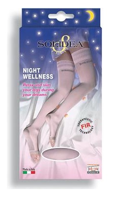 CALZA 70 DEN  LINEA PREVENTIVA NIGHT WELLNESS NERO 3-ML - Farmawing