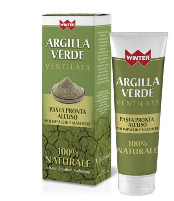 WINTER ARGILLA VERDE VENTILATA PRONTA ALL'USO 250 ML - Farmacento