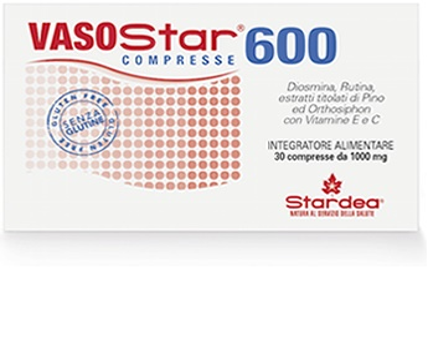 VASOSTAR 600 30 COMPRESSE 1.000 MG - Farmacento