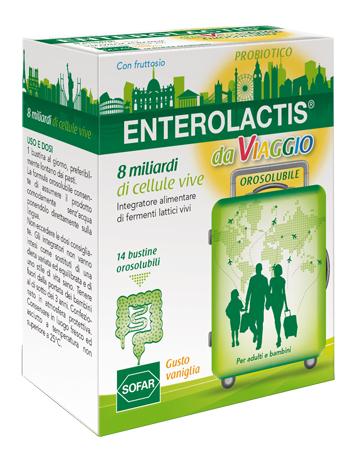 ENTEROLACTIS VIAGGIO 14 BUSTE - FARMAEMPORIO