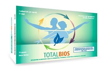 TOTALBIOS 15 CAPSULE - Farmacento