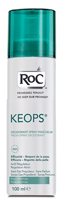 ROC KEOPS DEODORANTE SPRAY FRESCO 100 ML - Farmamille