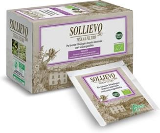 SOLLIEVO BIO TISANA 20 FILTRI DA 2,2 G - Antica Farmacia Del Lago