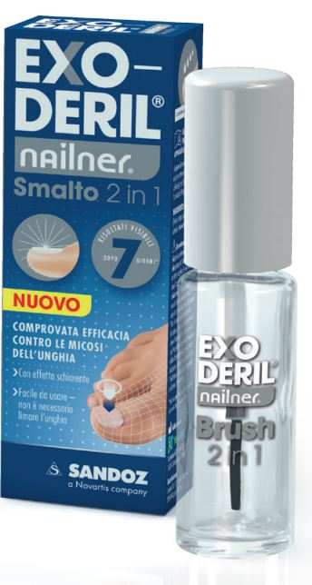 EXODERIL NAILNER SMALTO 2 IN 1 - Farmacento