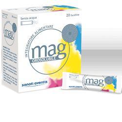 MAG GRANULATO OROSOLUBILE 20 BUSTINE - Farmacia 33