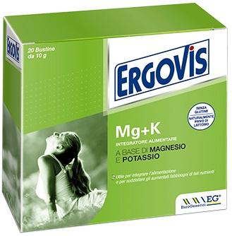 ERGOVIS MG+K 20 BUSTE 10 G - La tua farmacia online