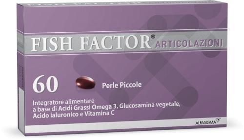 FISH FACTOR ARTICOLAZIONI 60 PERLE - Farmamille