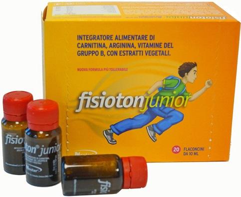 FISIOTON JUNIOR 20 FIALE 10 ML - Farmacia 33
