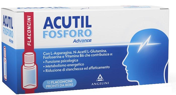 Acutil Fosforo Advance Integratore Alimentare 10 Flaconcini - La tua farmacia online