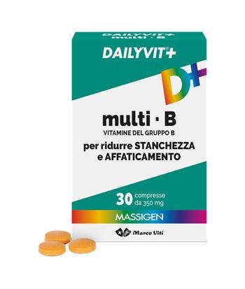 MASSIGEN DAILYVIT+ MULTI B 30 COMPRESSE - Zfarmacia