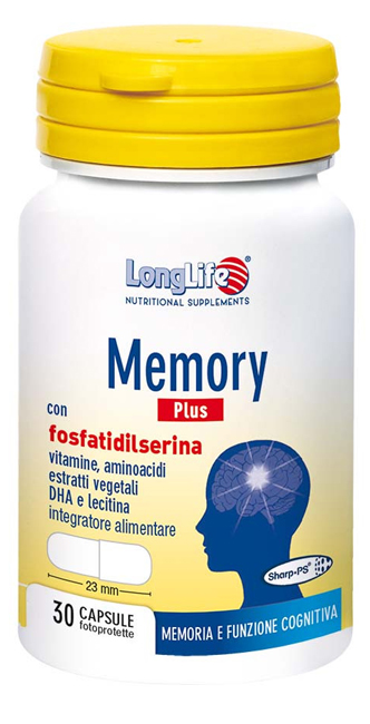 LONGLIFE MEMORY PLUS 30 CAPSULE - Zfarmacia