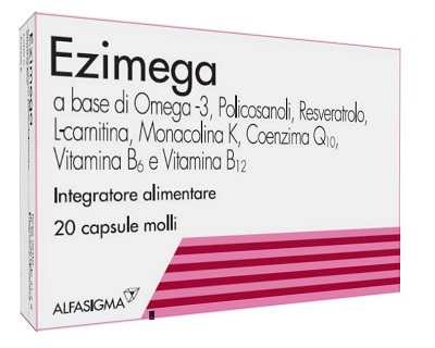EZIMEGA 20 CAPSULE MOLLI - Antica Farmacia Del Lago