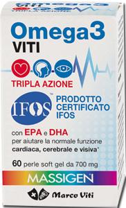 MASSIGEN OMEGA 3 60 PERLE - La tua farmacia online