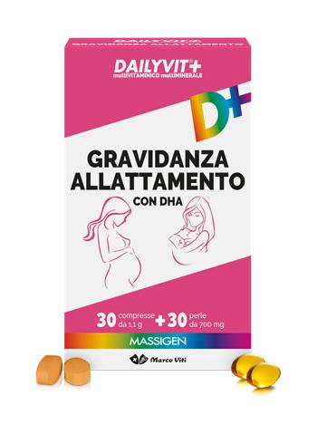 MASSIGEN DAILYVIT GRAVIDANZA ALLATTAMENTO 30PRL+30CPR - La tua farmacia online