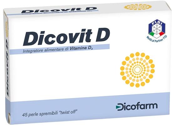 DICOVIT D 45 PERLE - Zfarmacia
