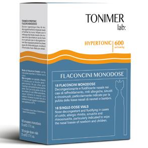 Tonimer Hypertronic Lavaggio Nasale 18 Flaconcini - La tua farmacia online