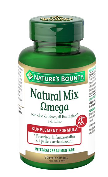 NATURAL MIX OMEGA 60 PERLE - Farmacento