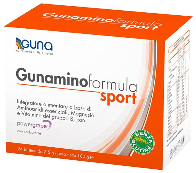GUNAMINO FORM SPORT 42 BUSTE 315 G - La tua farmacia online