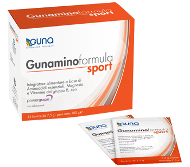 Guna Gunamino Formula Sport Integratore Alimentare 42 Buste - Farmacia 33