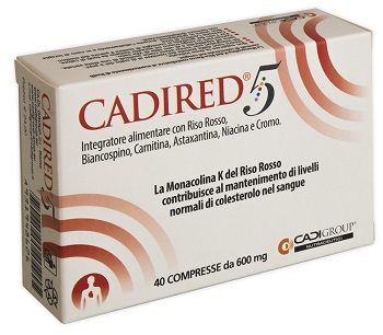 CADIRED 5 40 COMPRESSE - La tua farmacia online