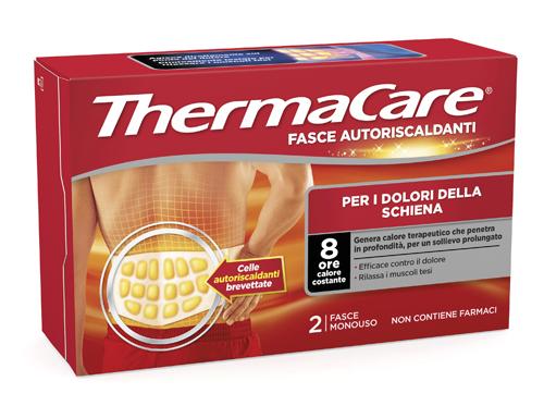 FASCIA AUTORISCALDANTE A CALORE TERAPEUTICO THERMACARE SCHIENA 2 PEZZI - Farmacia 33