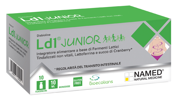 LD1 JUNIOR 10 FIALE MONODOSE 10 ML - La tua farmacia online