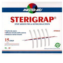 CEROTTO PER SUTURA MASTER-AID STERIGRAP 7,5X0,6 12 PEZZI - Parafarmaciabenessere.it