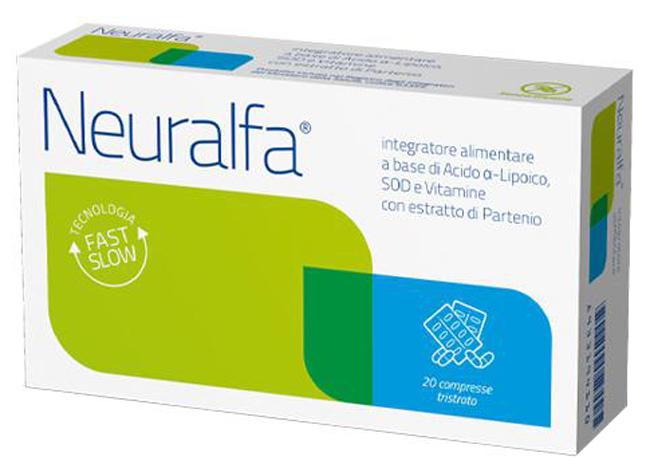 NEURALFA SOD 20 COMPRESSE 1000 MG - La tua farmacia online