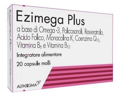 EZIMEGA PLUS 20 CAPSULE MOLLI - Farmamille