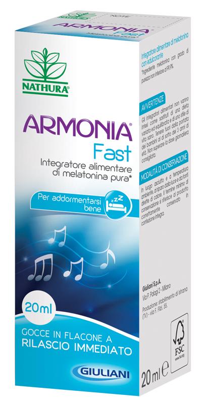 ARMONIA FAST 1 MG MELAT GOCCE 20 ML - Farmamille