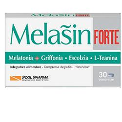 Pool Pharma Melasin Forte 1 mg Integratore Sonno 30 Compresse - La tua farmacia online