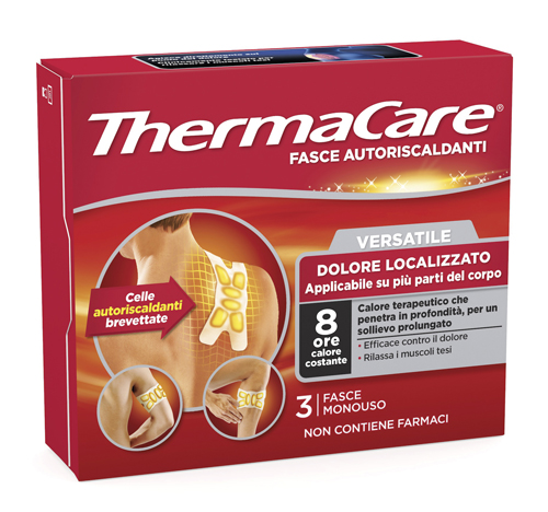 THERMACARE FLEXIBLE USE 3 PEZZI - Farmamille