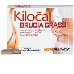 POOL PHARMA KILOCAL BRUCIA GRASSI INTEGRATORE ALIMENTARE 15 COMPRESSE - Farmastar.it
